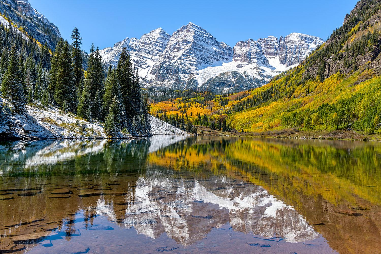 Maroon Lake, Aspen, Colorado
