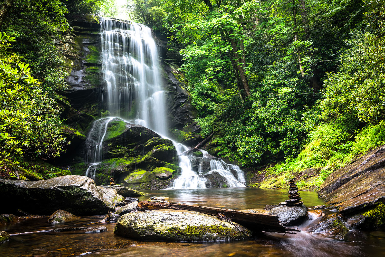 Upper Catawbwa Falls, North Carolina