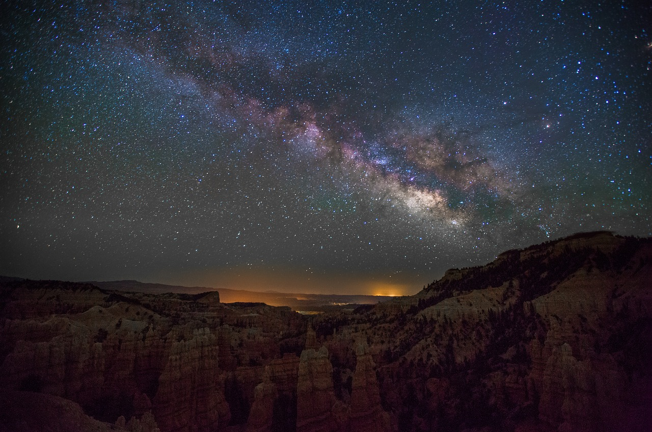 Milky Way, Fairylnd Canyon Park, Utah