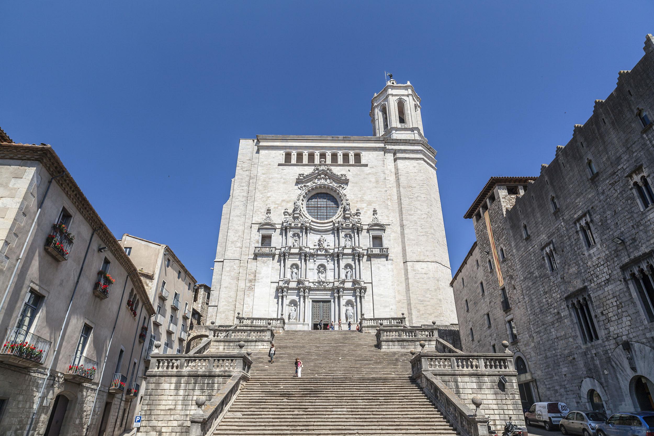 Girona Cathedral, Girona, Spain