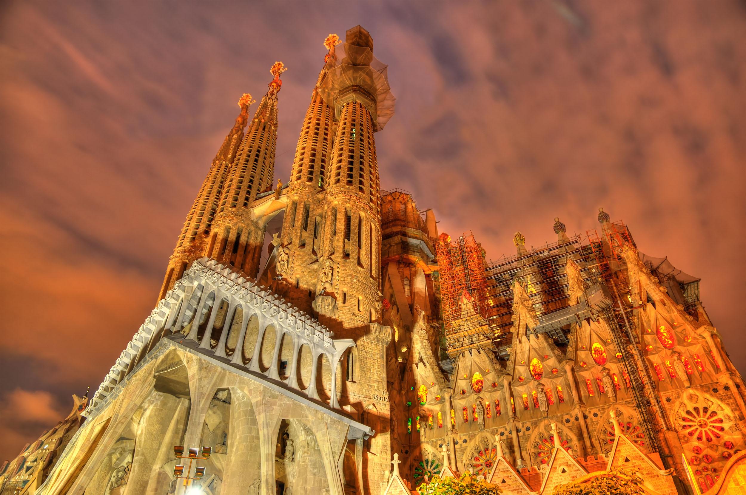 Basillica la Sagrada Família, Barcelona, Spain