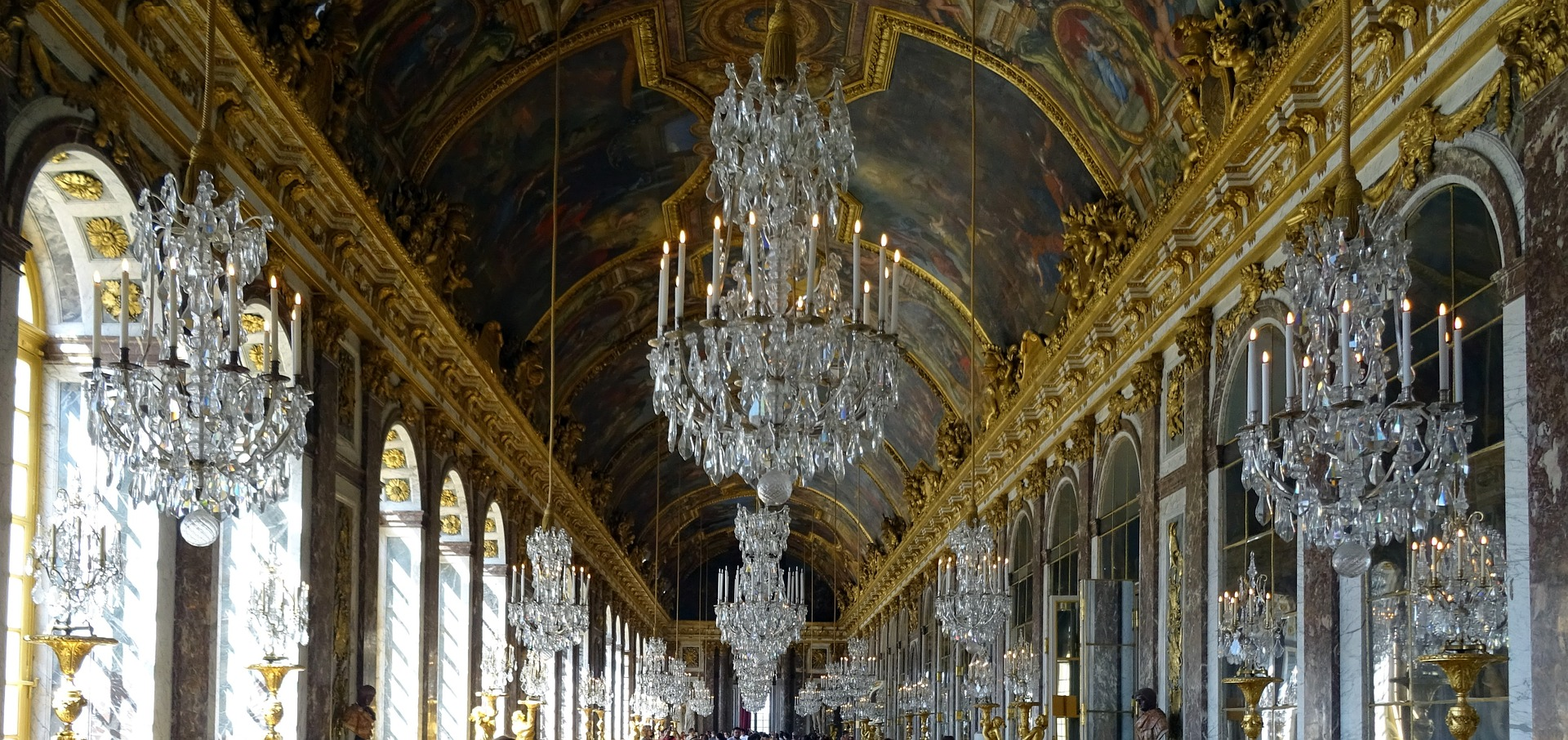 Versailles Palace Hall of Mirrors, Versailles, France
