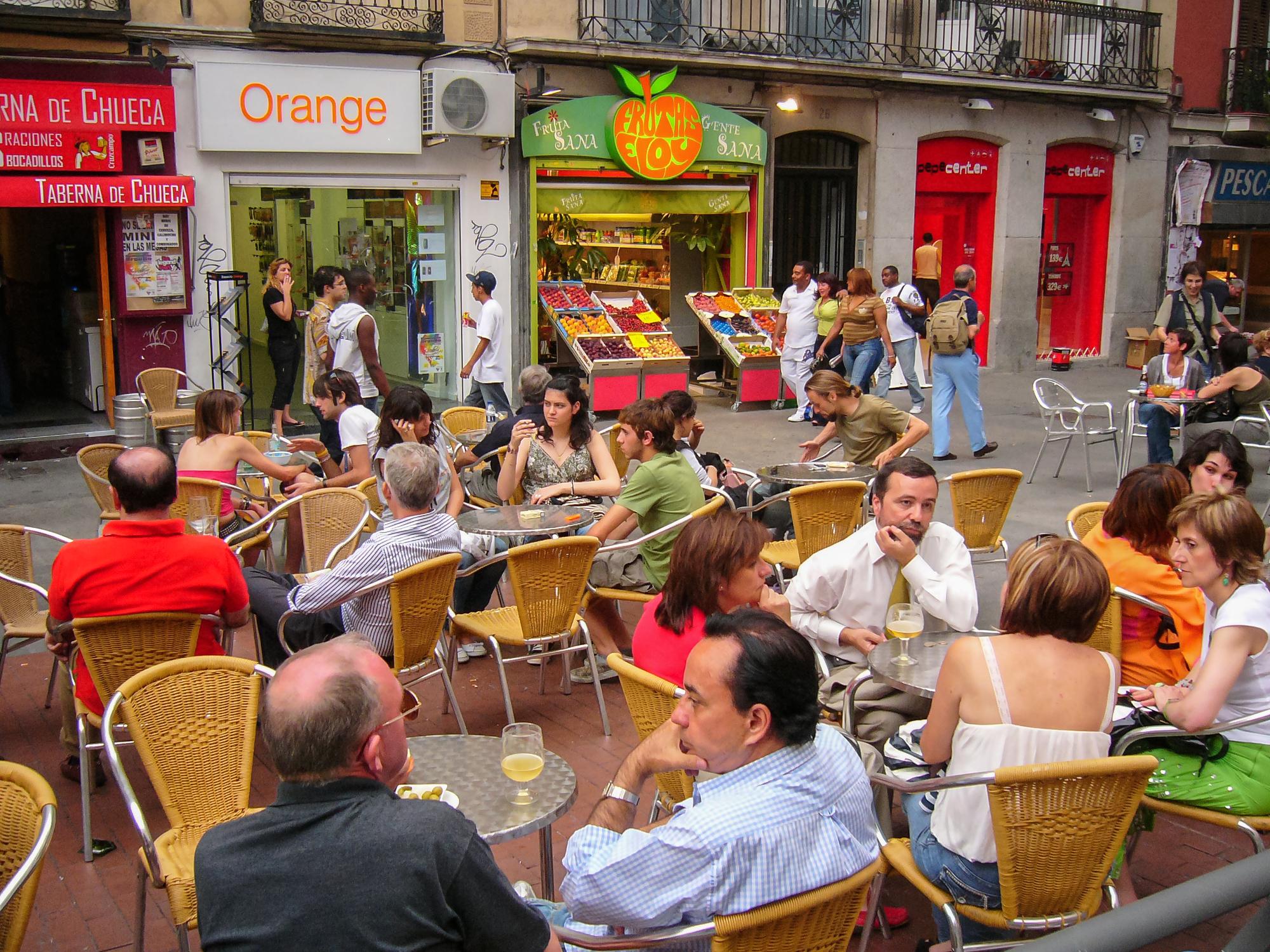 Chueca, Madrid, Spain