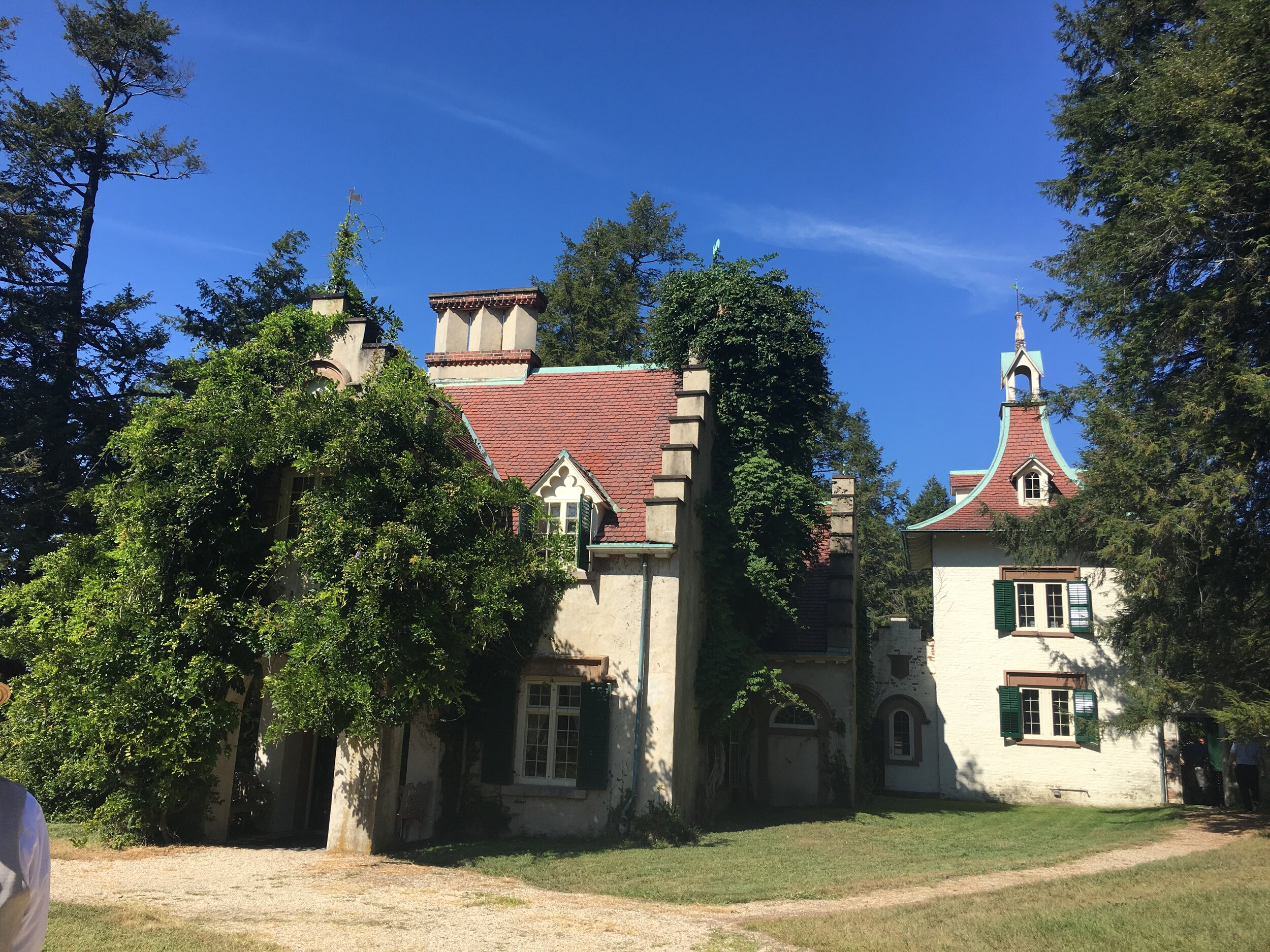 Sunnyside—Home of Washington Irving in Irvington (Tarrytown)