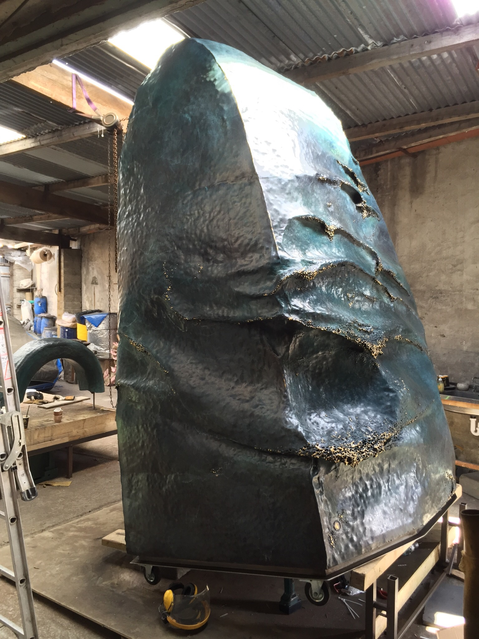 The patinated Sea Bell