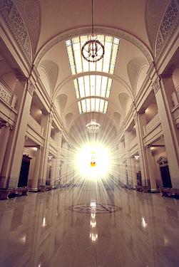 Atrium- Guthrie SR Temple