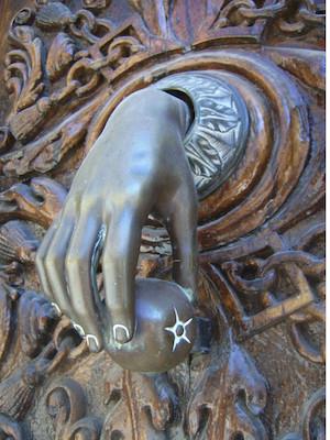 Hand Door Knocker- (C) Julius Eugen 2007