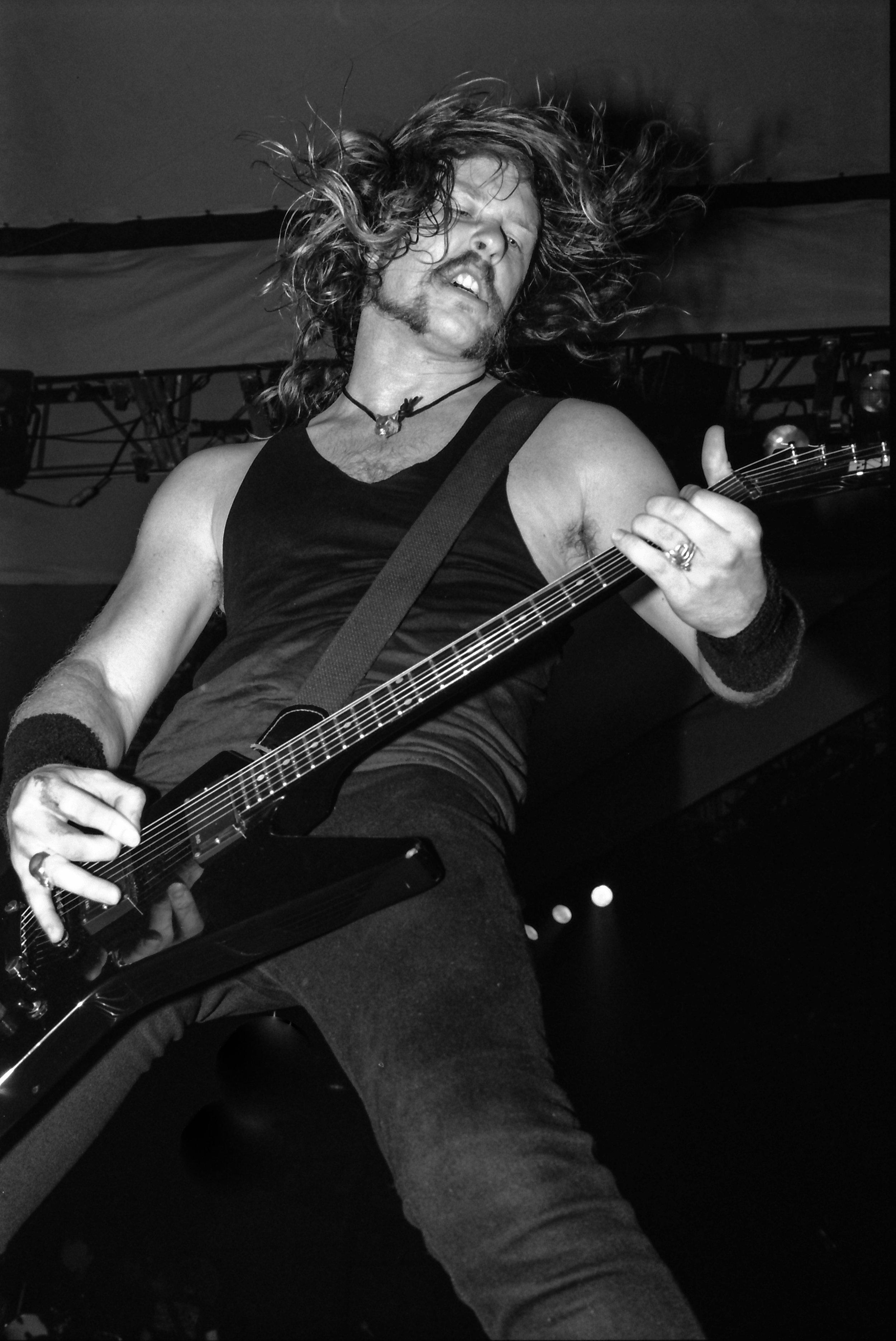 James Hetfield - Metallica - 1991