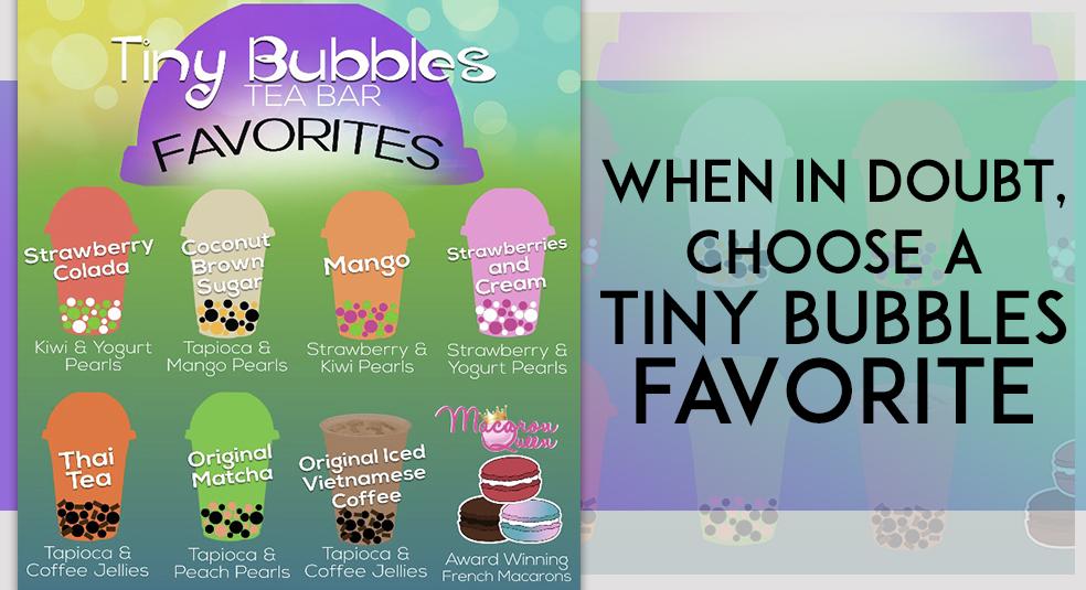 Bubble Tea Tiny Bubbles