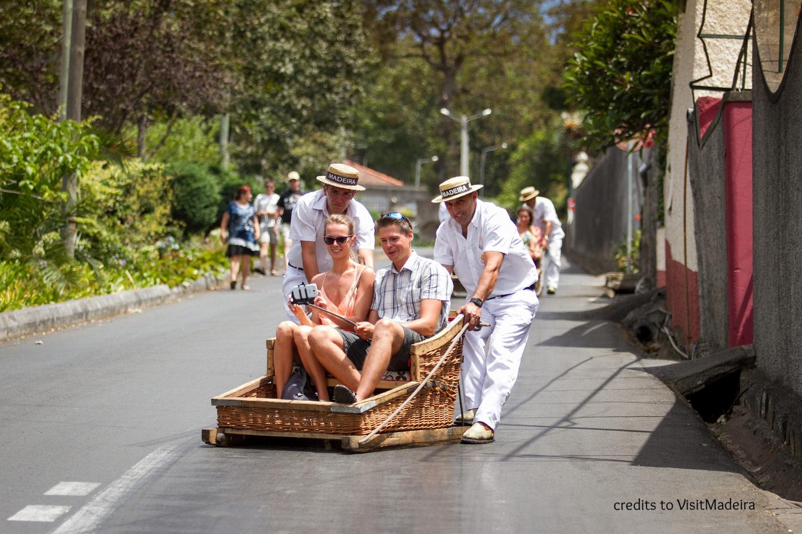 Toboggan Ride - Carros de Cestos - Funchal