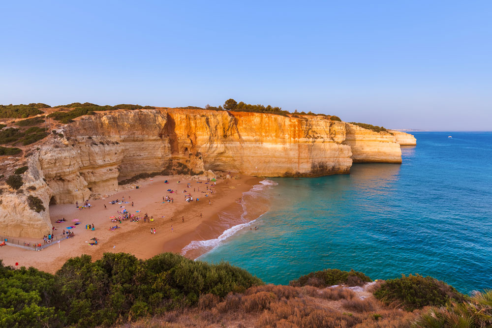 Algarve Coast Boat Tour & Sunset BBQ at the beach -