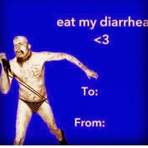 It's Valentine's Day! Don't you wanna drink? Of course you do #happyhour is on and @blownaparte is here to waste you #bringadate #eatpizza buy her a #whitetrashspecial sure to make those panties drop! Or come alone and #drinkyoursorrowsaway I don't care just #getdrunk ! #lucky13saloon #ggallin #gowanus #brooklyn