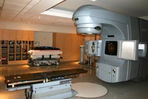 Radiation machine in operating room