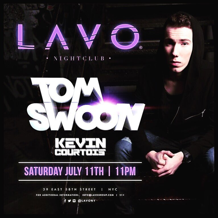 Kevin Courtois Tom Swoon LAVO Nightclub NYC