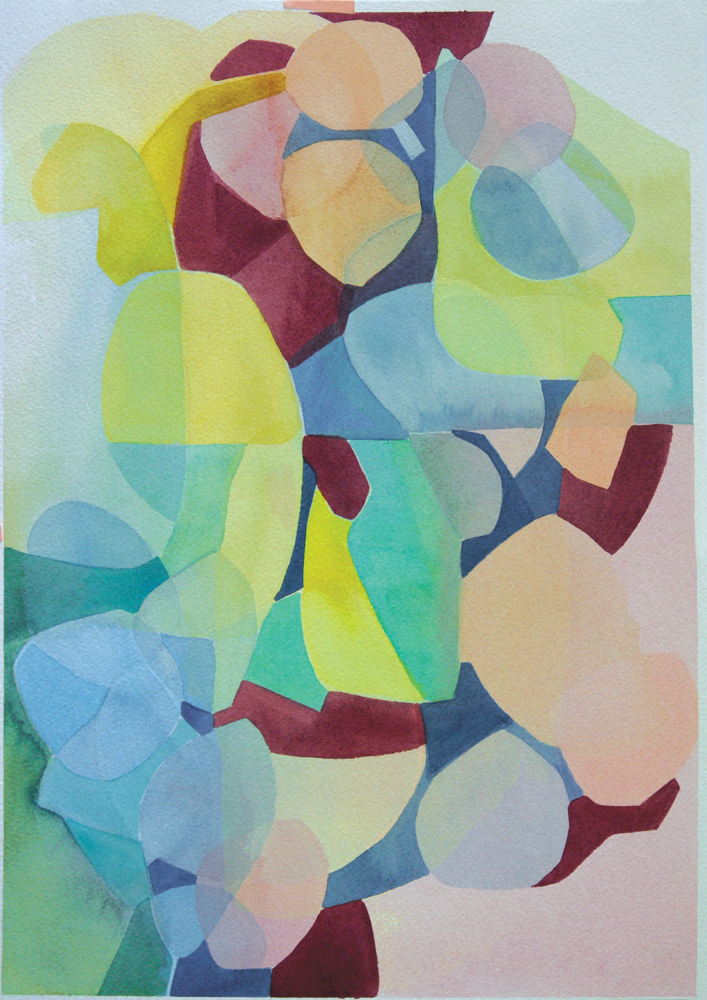 'Connect' A3 Watercolour painting on Arches Paper 300gsmAUD $495 Unframed   AVAILABLE