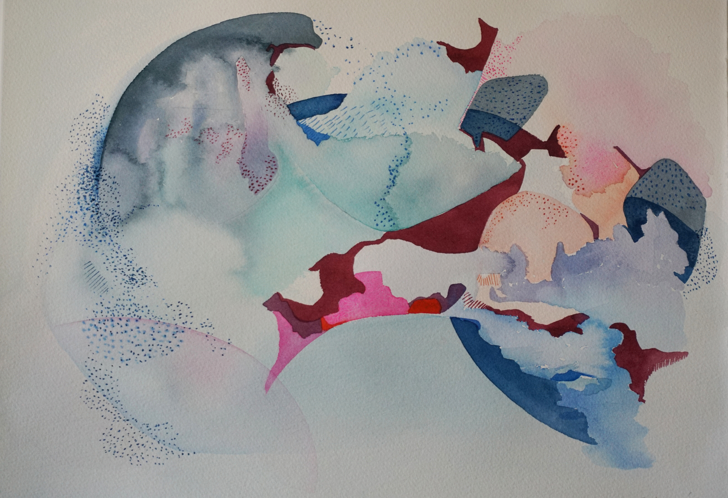 Watercolour painting on  Arches Watercolour Paper 300gsm AUD $495 Unframed   AVAILABLE
