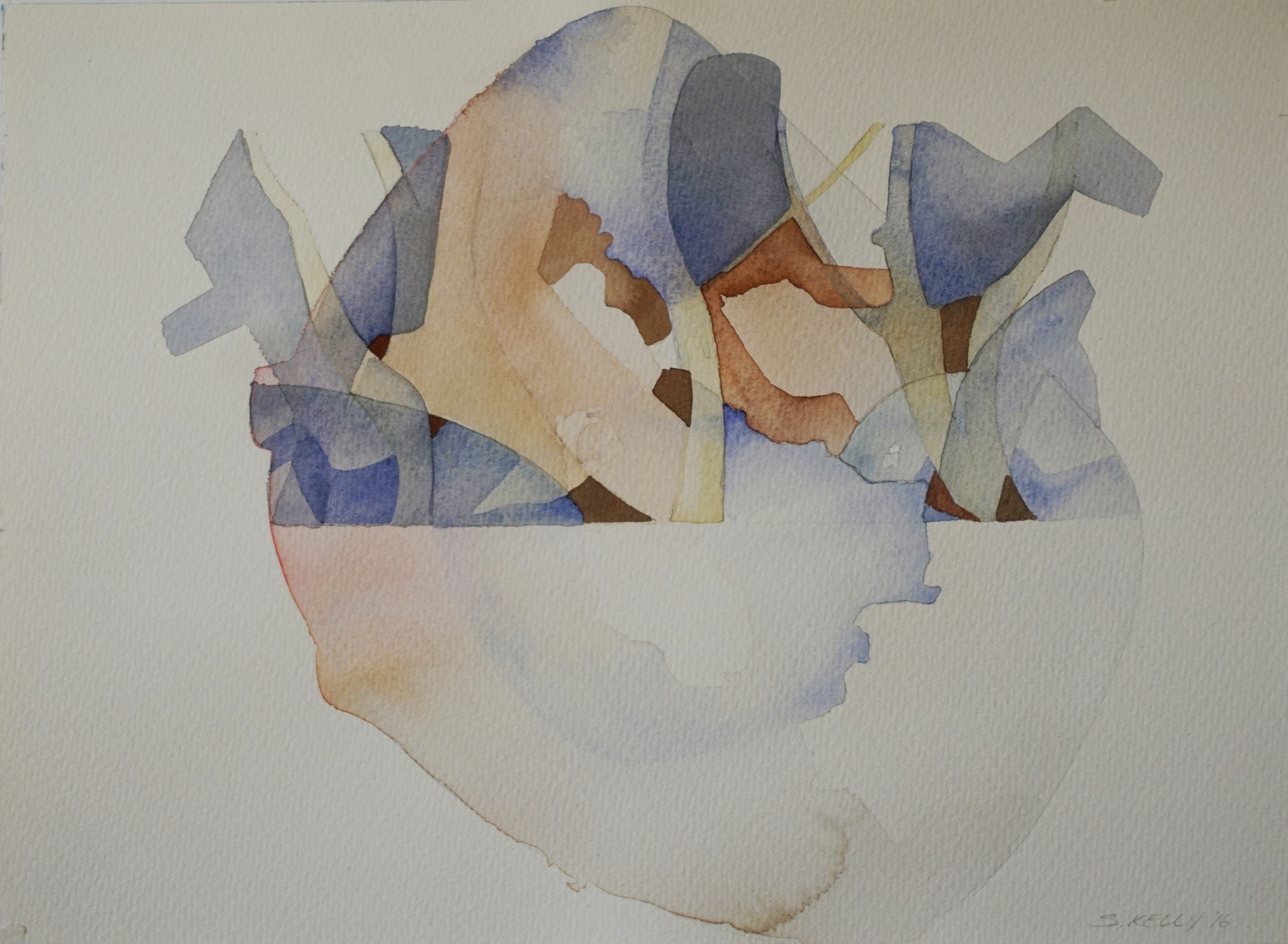 Watercolour painting on Saunders Waterford Watercolour Paper 300gsm 270mm x 370mm    NFS