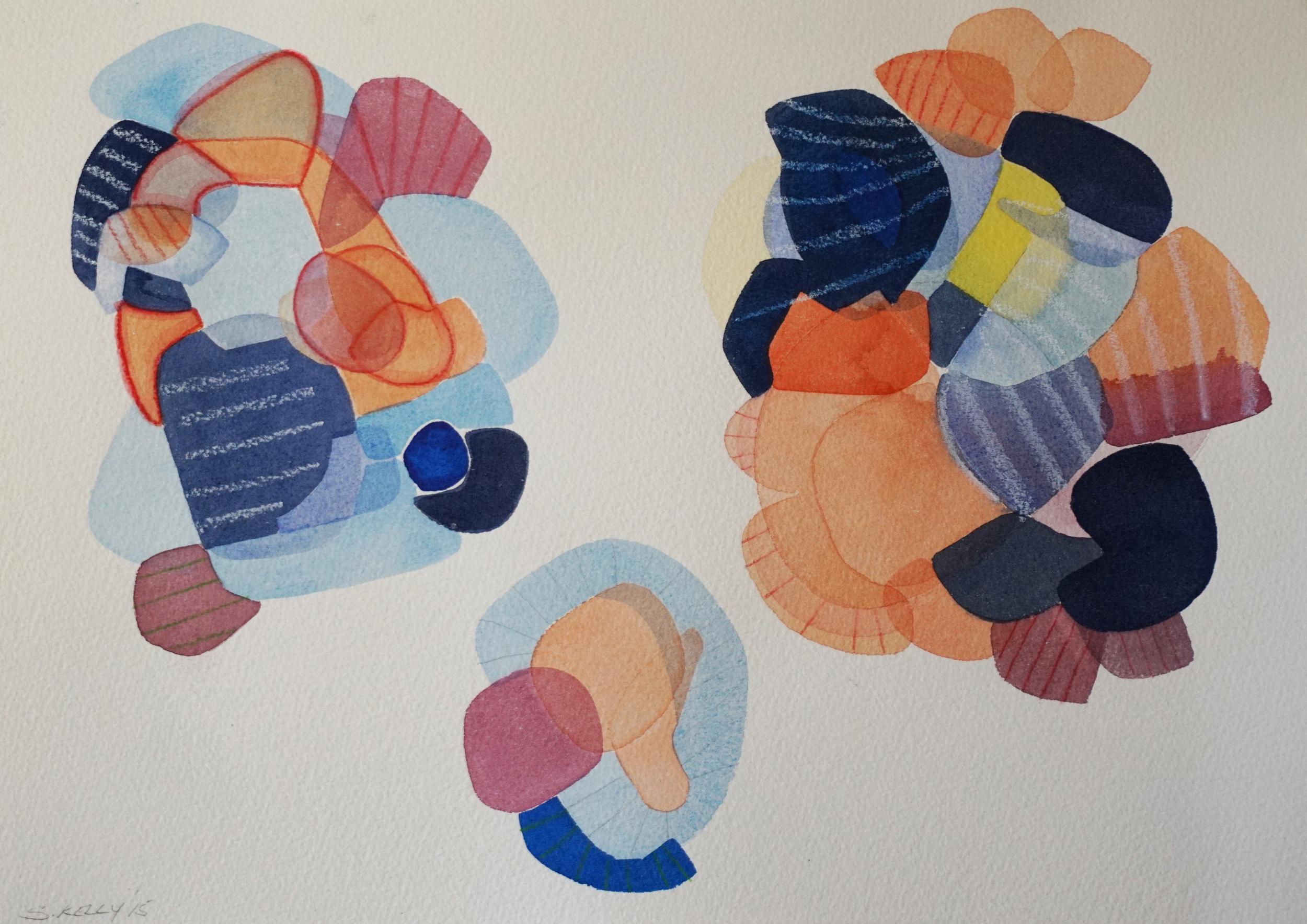 Mixed Media A3 on Arches Watercolour Paper 300gsm    AUD $495 Unframed    AVAILABLE