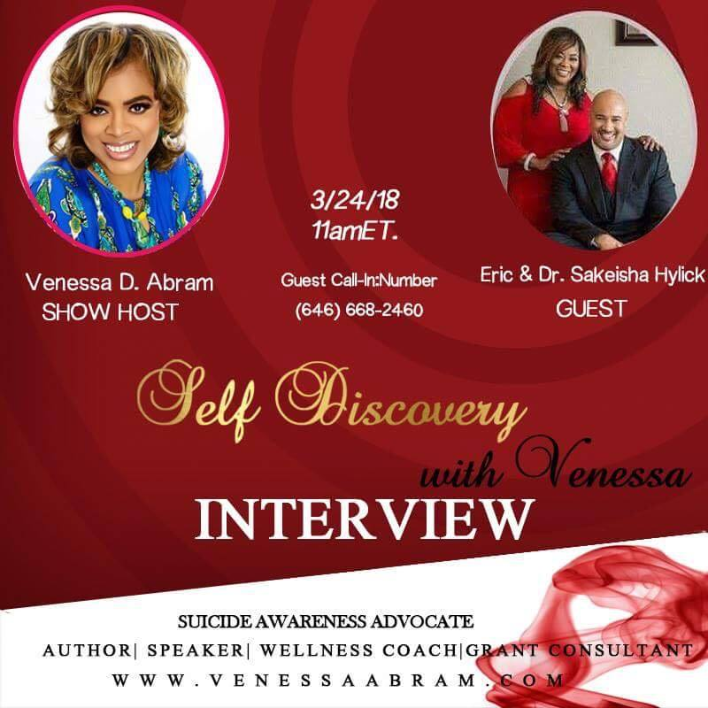 Lets talk about Sex interview with Venessa Abram. Click Below. - Eric & Dr. Sakeisha Hylick Marriage Can Win