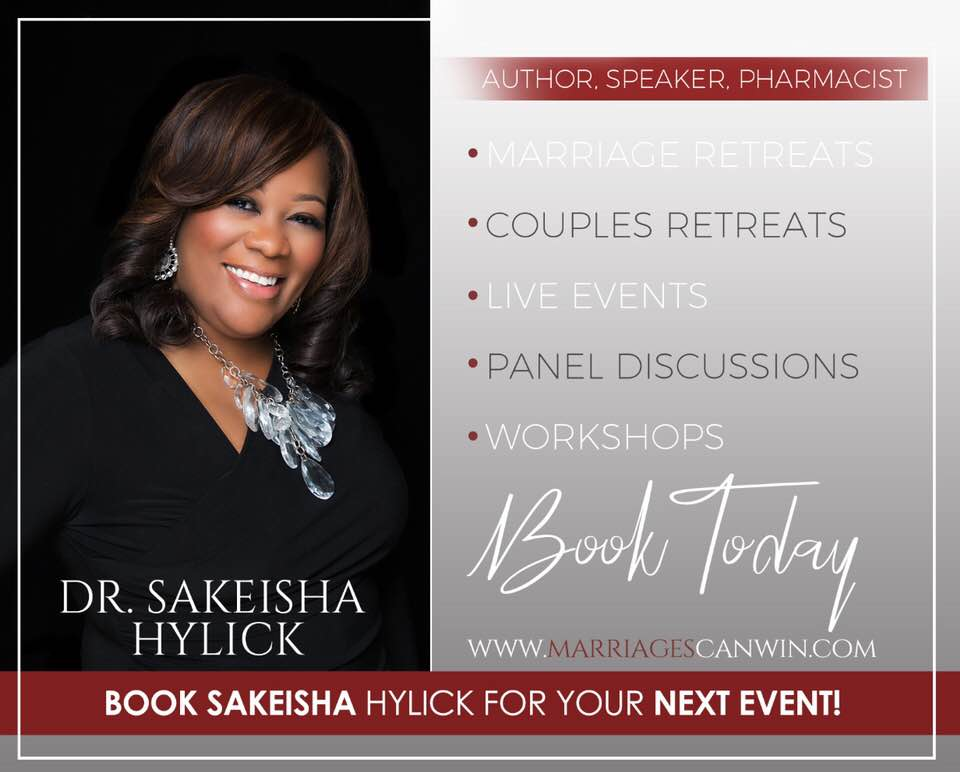 Book the Doctor - Dr. Sakeisha is available for speaking engagements,seminars, workshops and book signings. Click here or below to request for availability and one of our staff will contact you shortly.