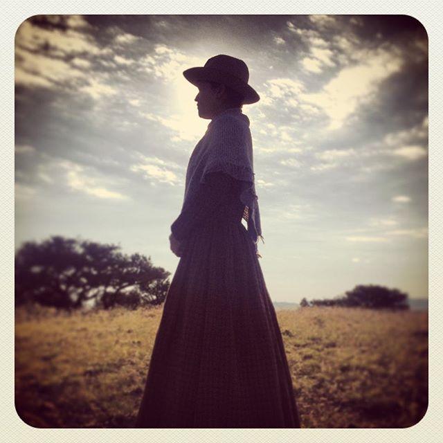 On set of the French Calamity Jane doc @gregmonro @cerdafiable #calamityjane #girlpower #cowgirl #documentary @docmiddleton