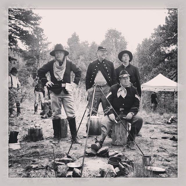 The extras posse #oldwest #calamityjane #documentary #reenactment