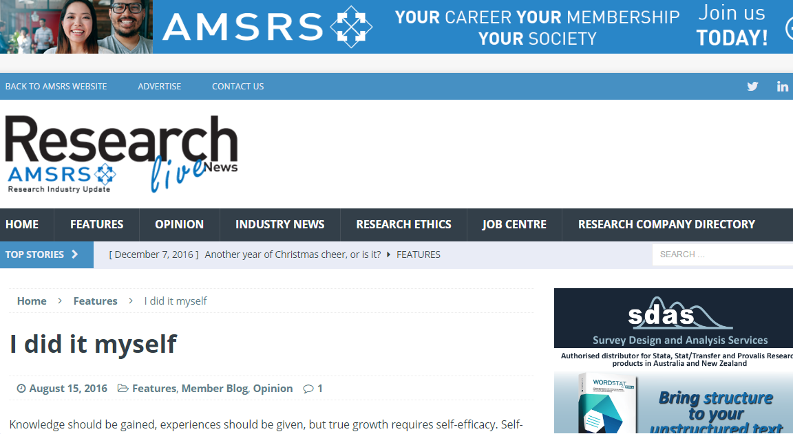 AMSRS Research