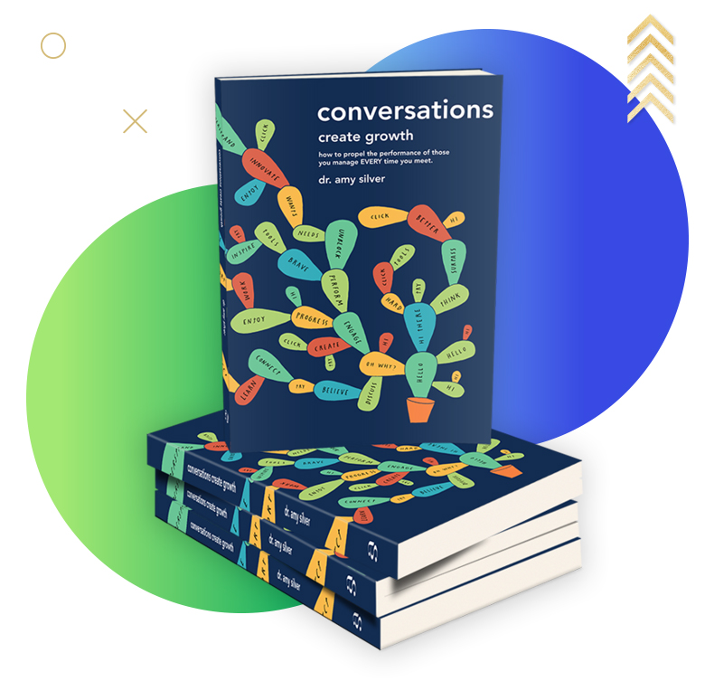 Dr Amy Silver conversations create growth book