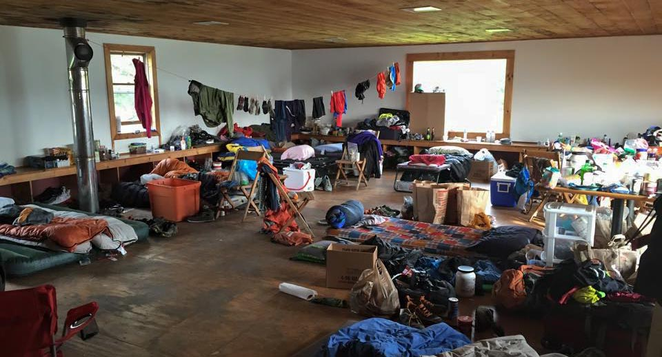 At the rustic Blueberry Hill ski center, Infinitus 888k runners slept on cots in a second-floor loft.