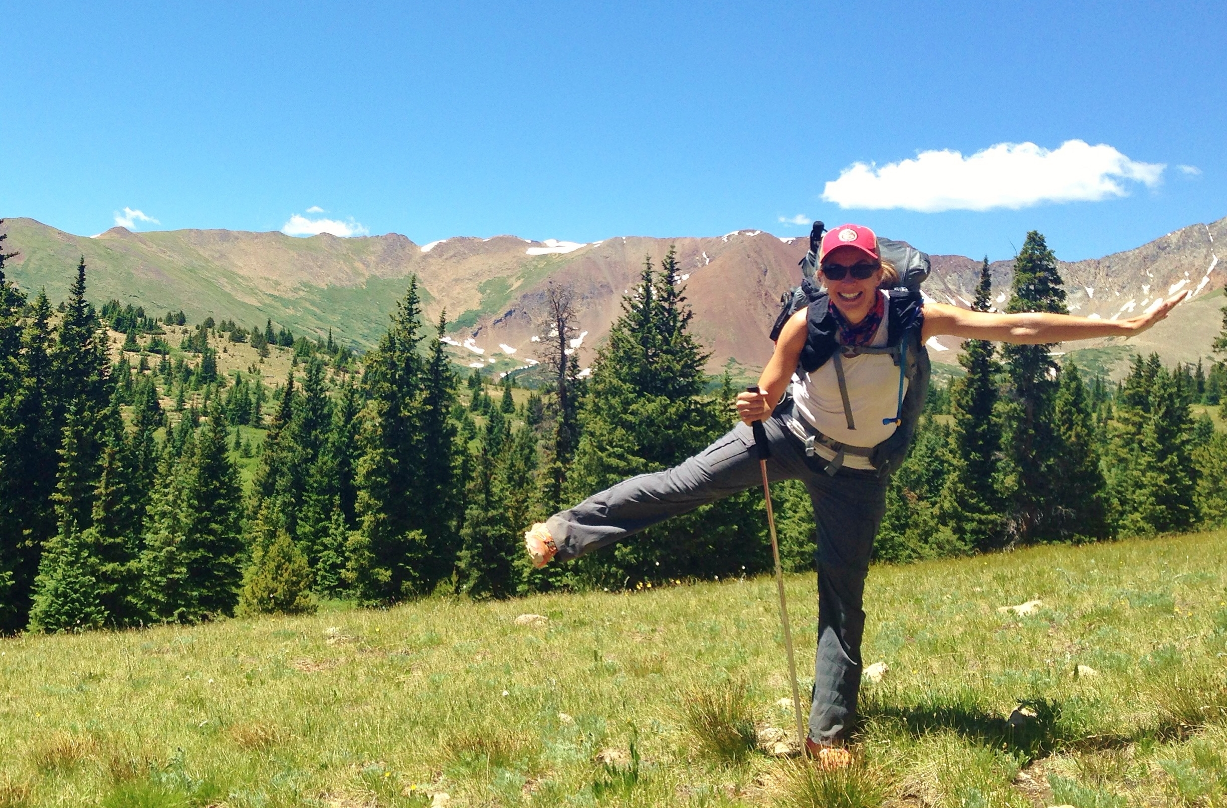 Becky Jensen is a writer, hiker, and mother from Fort COllins, Colorado.