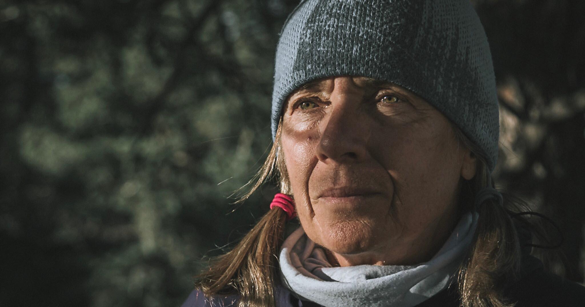Backcountry guide Cindy Gagnon (Photo by Josh Vertucci)