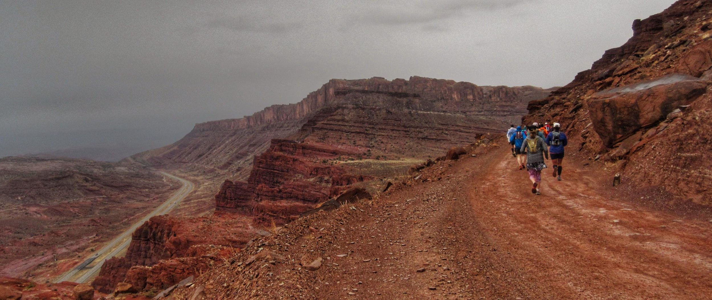 A trail race in Moab, UTah (Photo by the contributor of this story, anonymous)