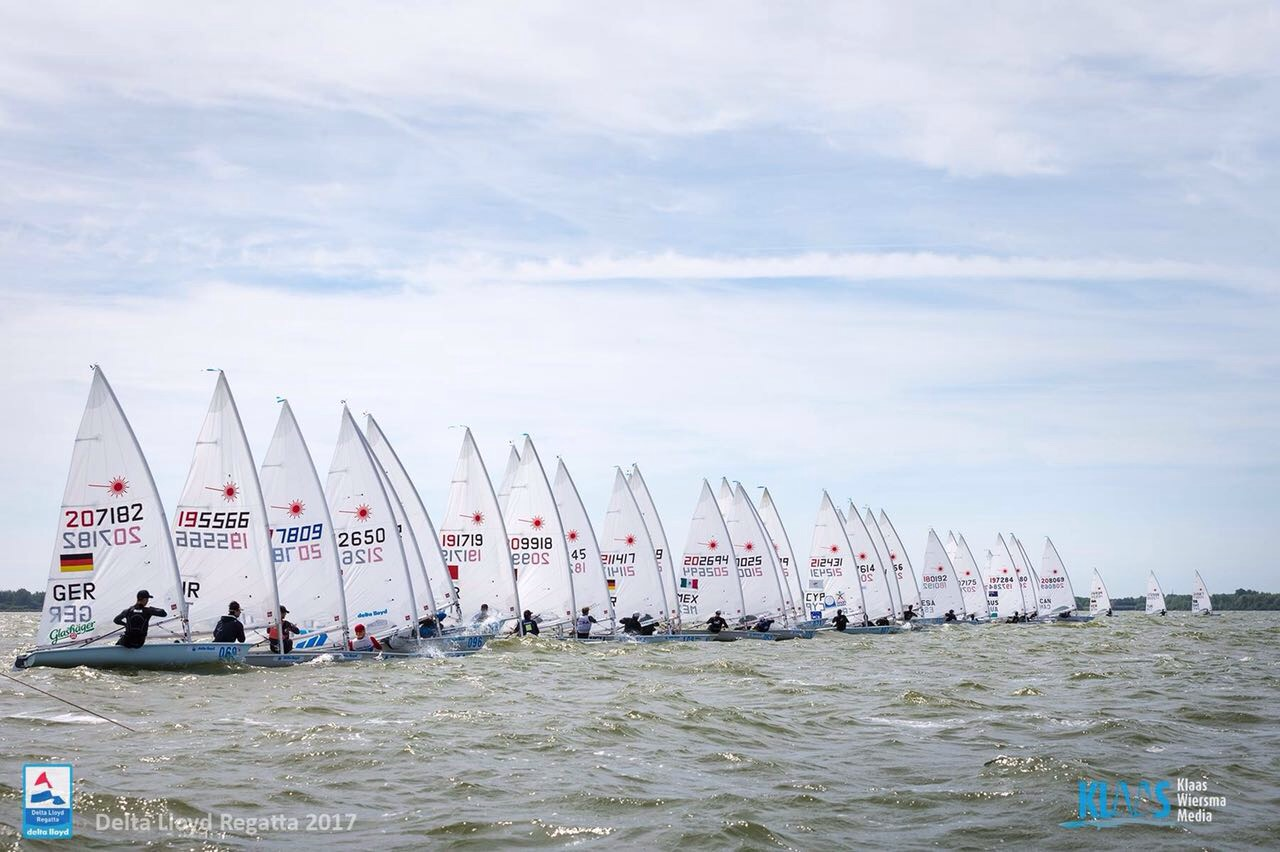 Awesome start on day 1 of the Delta Lloyd Regatta