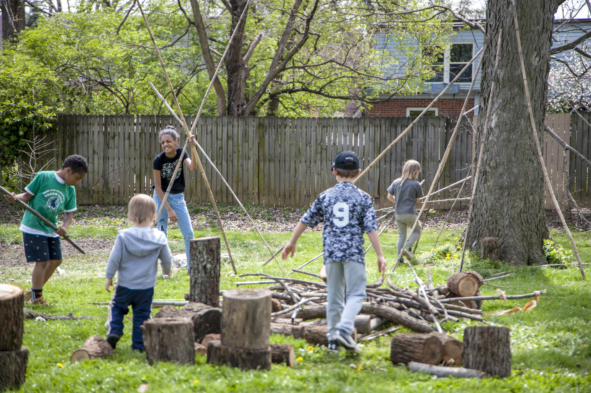PLANT & PLAY - The North Limestone Community Development Corporation is working with community partners to envision and create a new nature play environment they are calling Plant and Play. The play space will be created in Castlewood Park located in Lexington Kentucky.