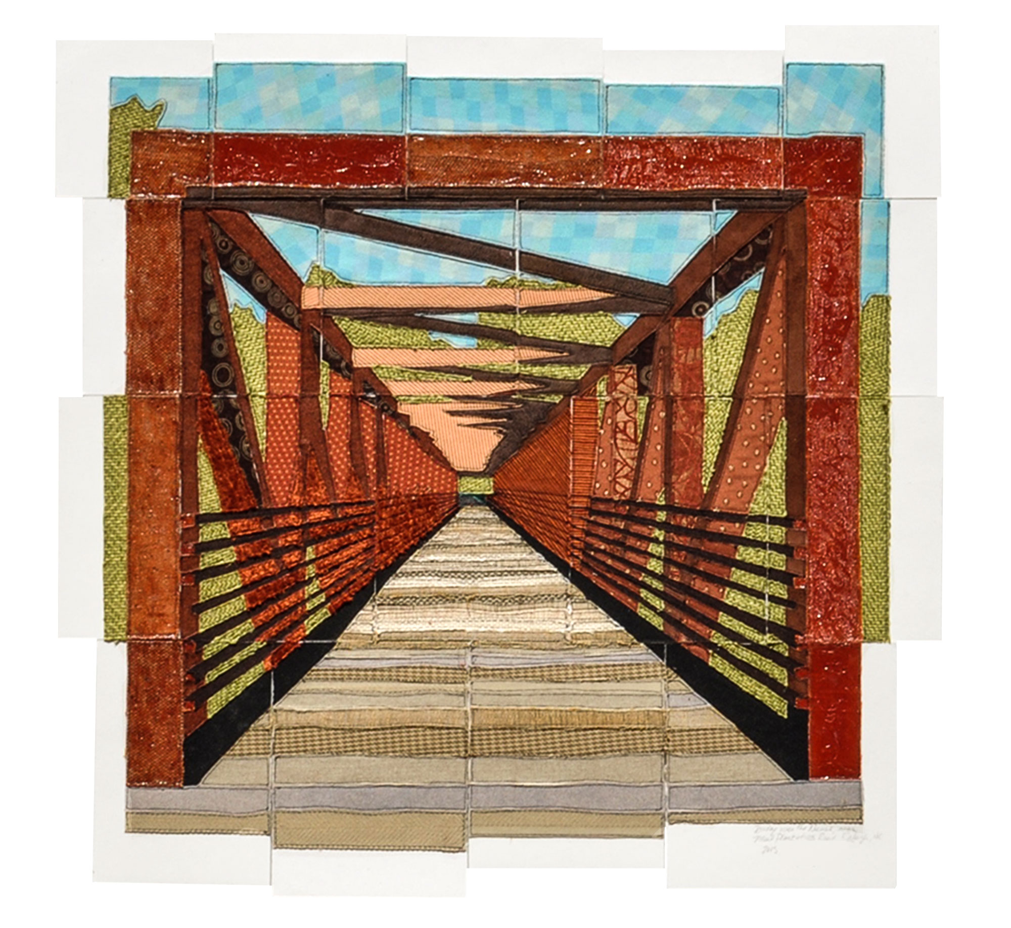 Bridge over the Neuse near Mial Plantation Rd., Raleigh, NC, 2015