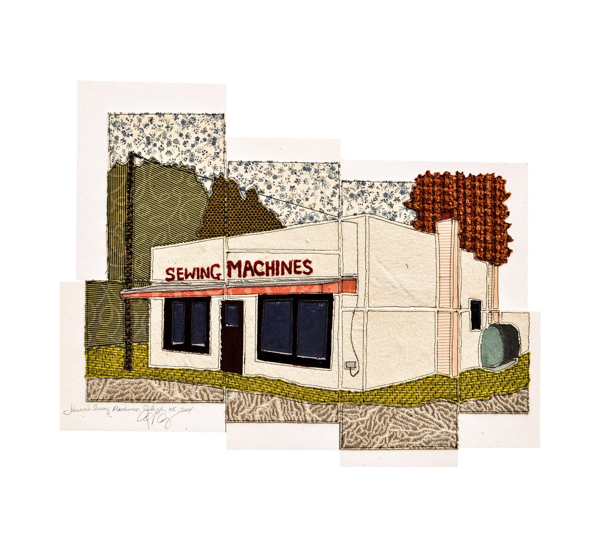 Johnson Sewing Machines, Raleigh, NC, 2014
