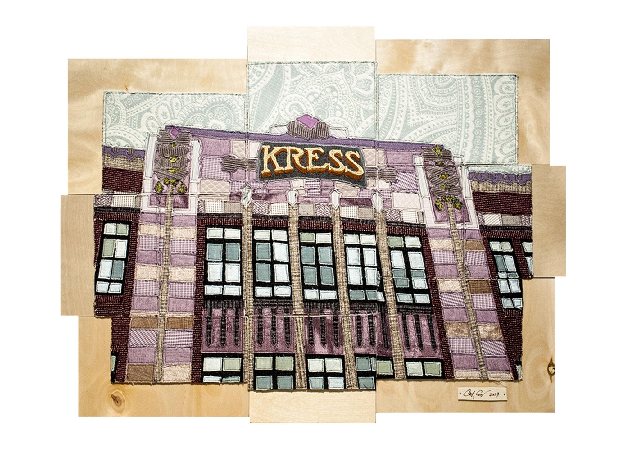 The Kress Building, Durham, NC, 2017