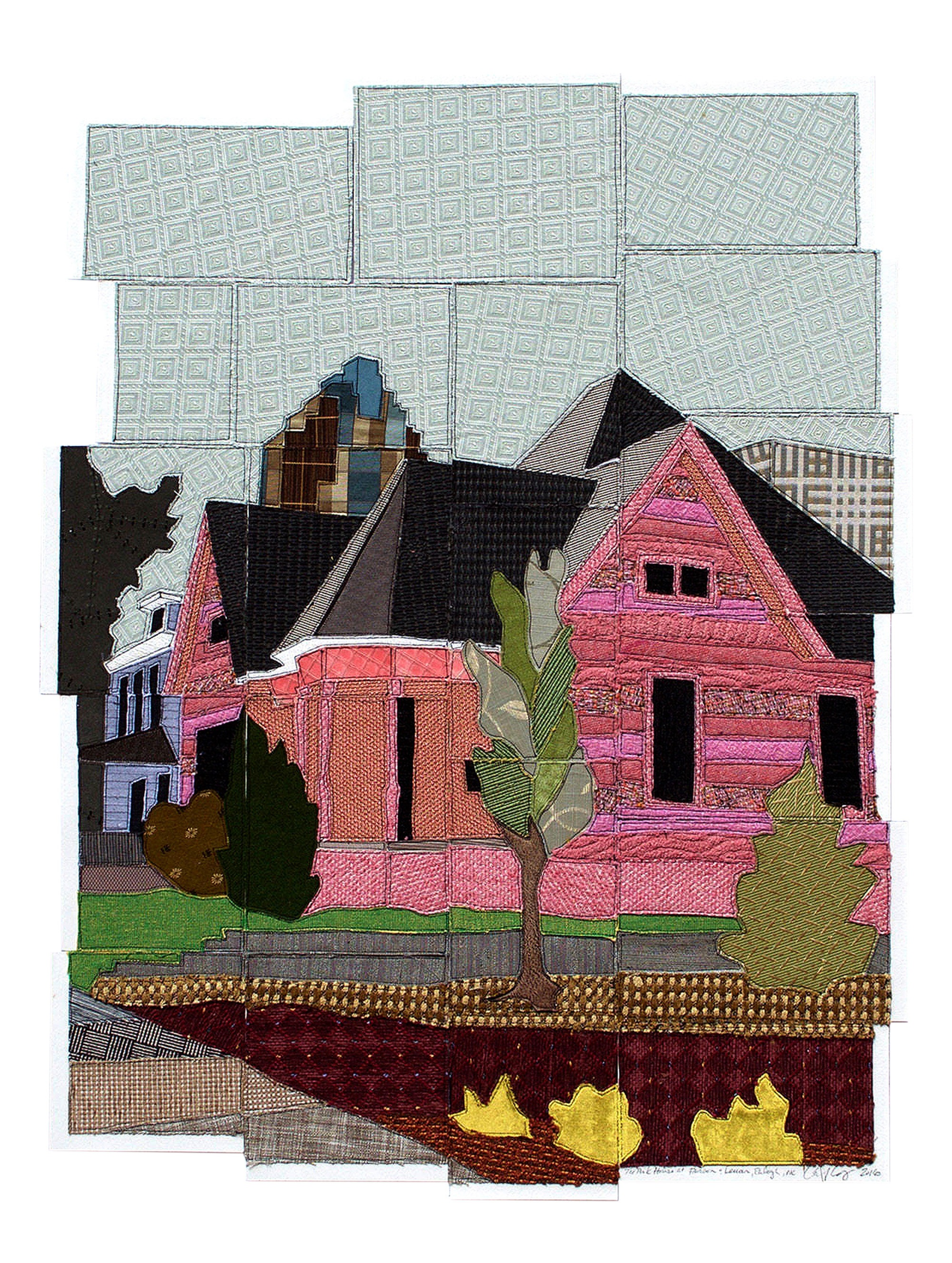 That Pink House at Person & Lenoir, Raleigh, NC, 2016