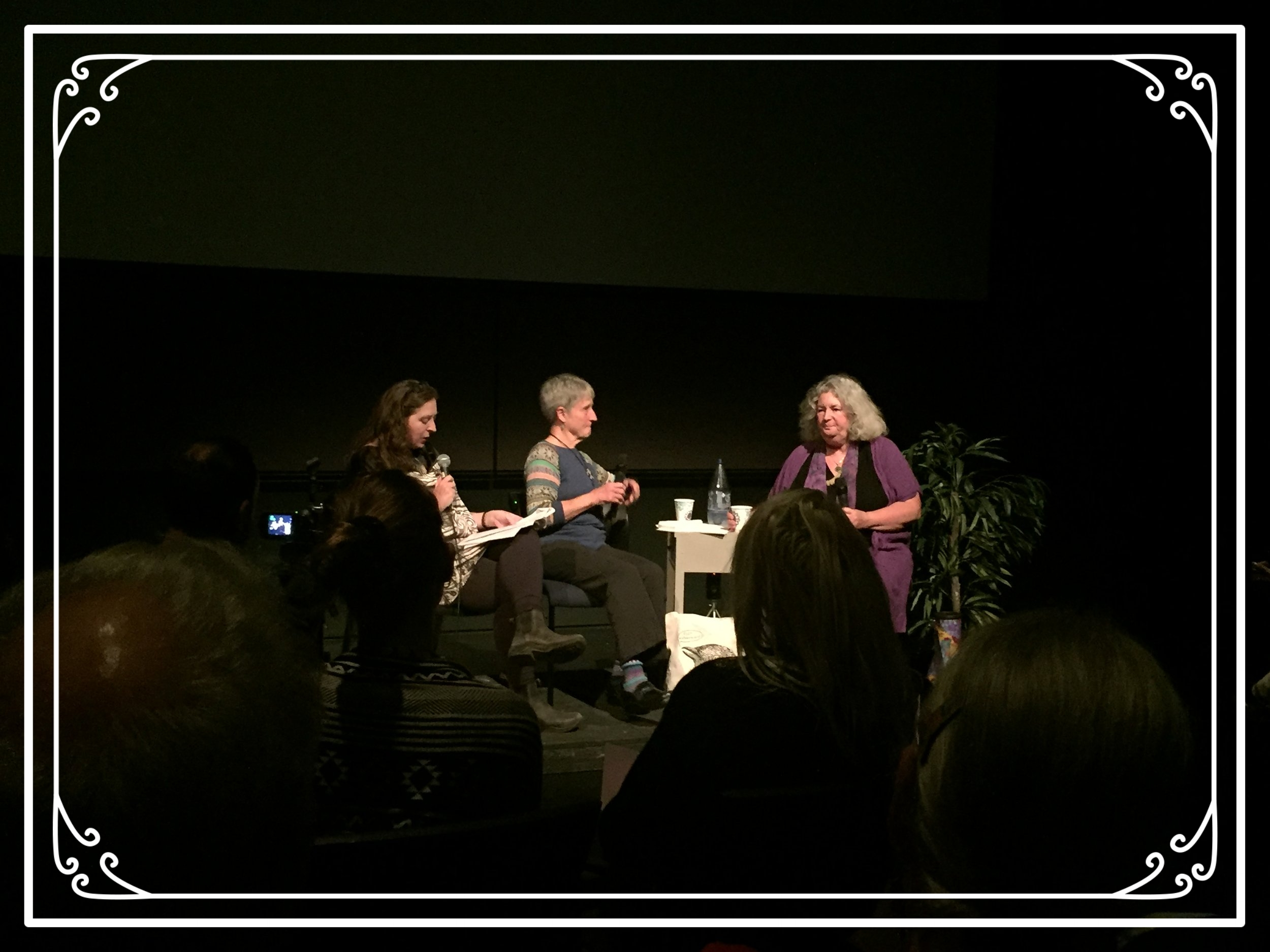 DONNA FUCKING HARAWAY, Starhawk, and Joan Haran.