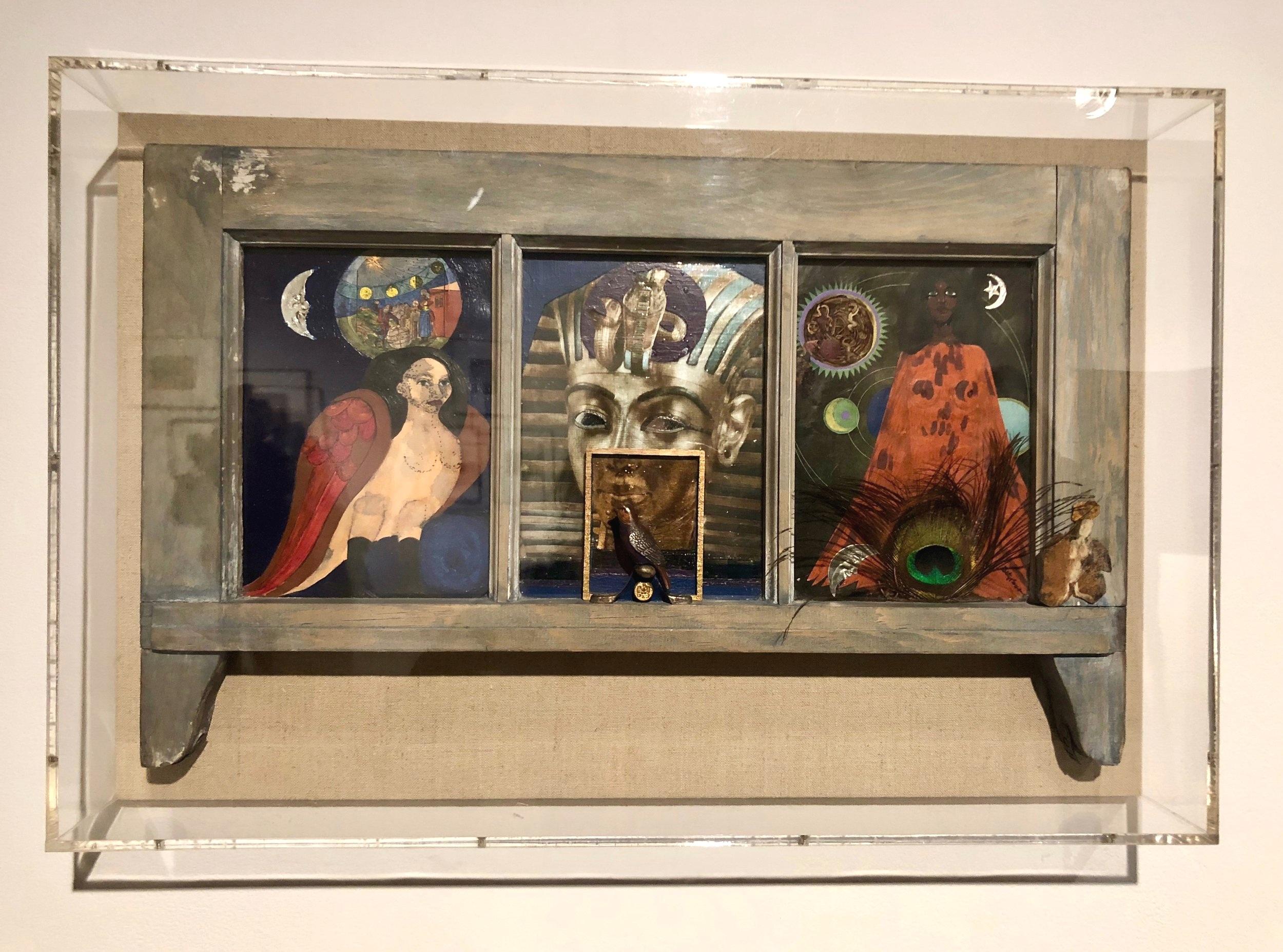 Window of Ancient Sirens,  1979 - Betye Saar