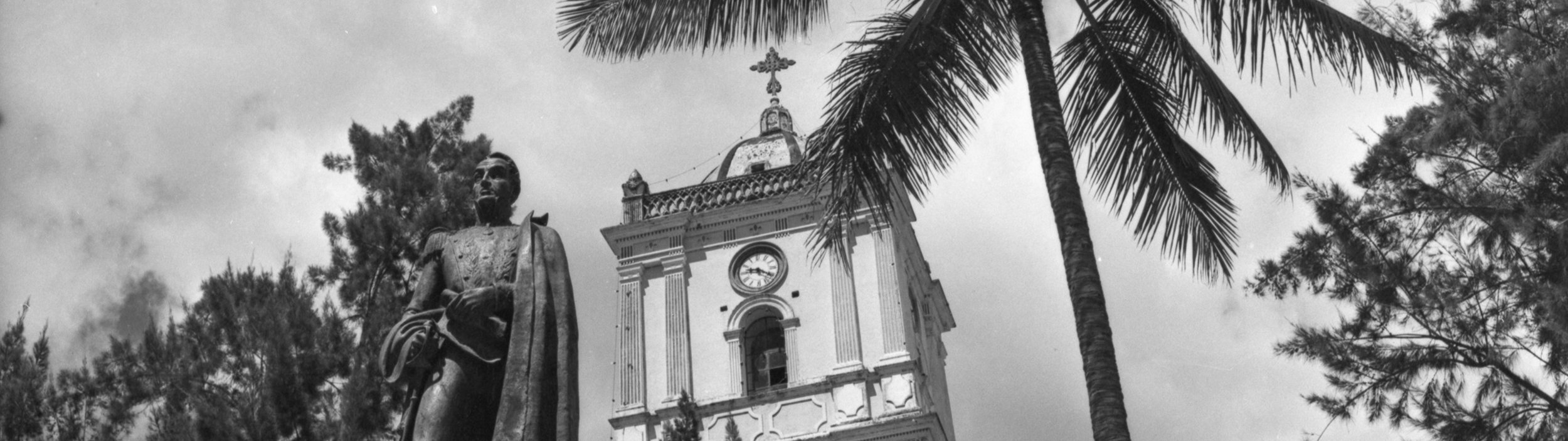 La Plaza Bolívar by Hector Sandoval ~c. 1970