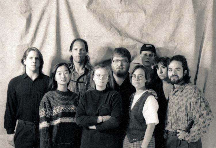 Our original 1993 creative team.