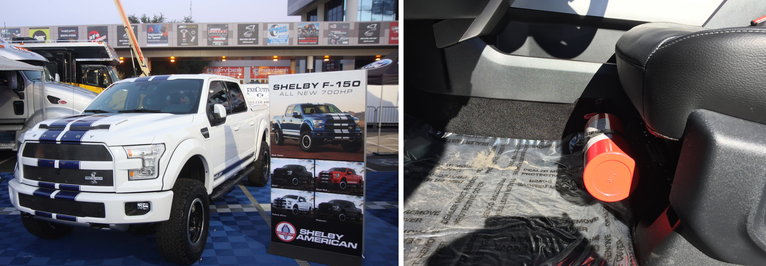 2016 Ford F150 on Shelby booth at SEMA