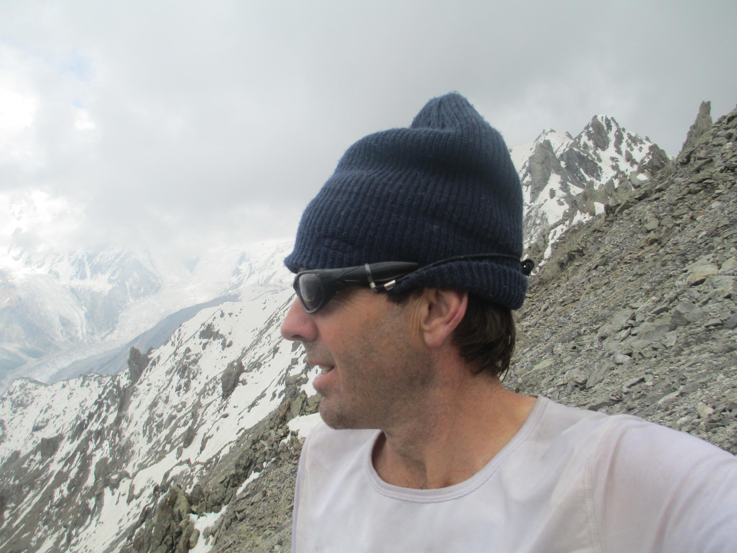 Climbing Peak 5072 above Jillper Pass