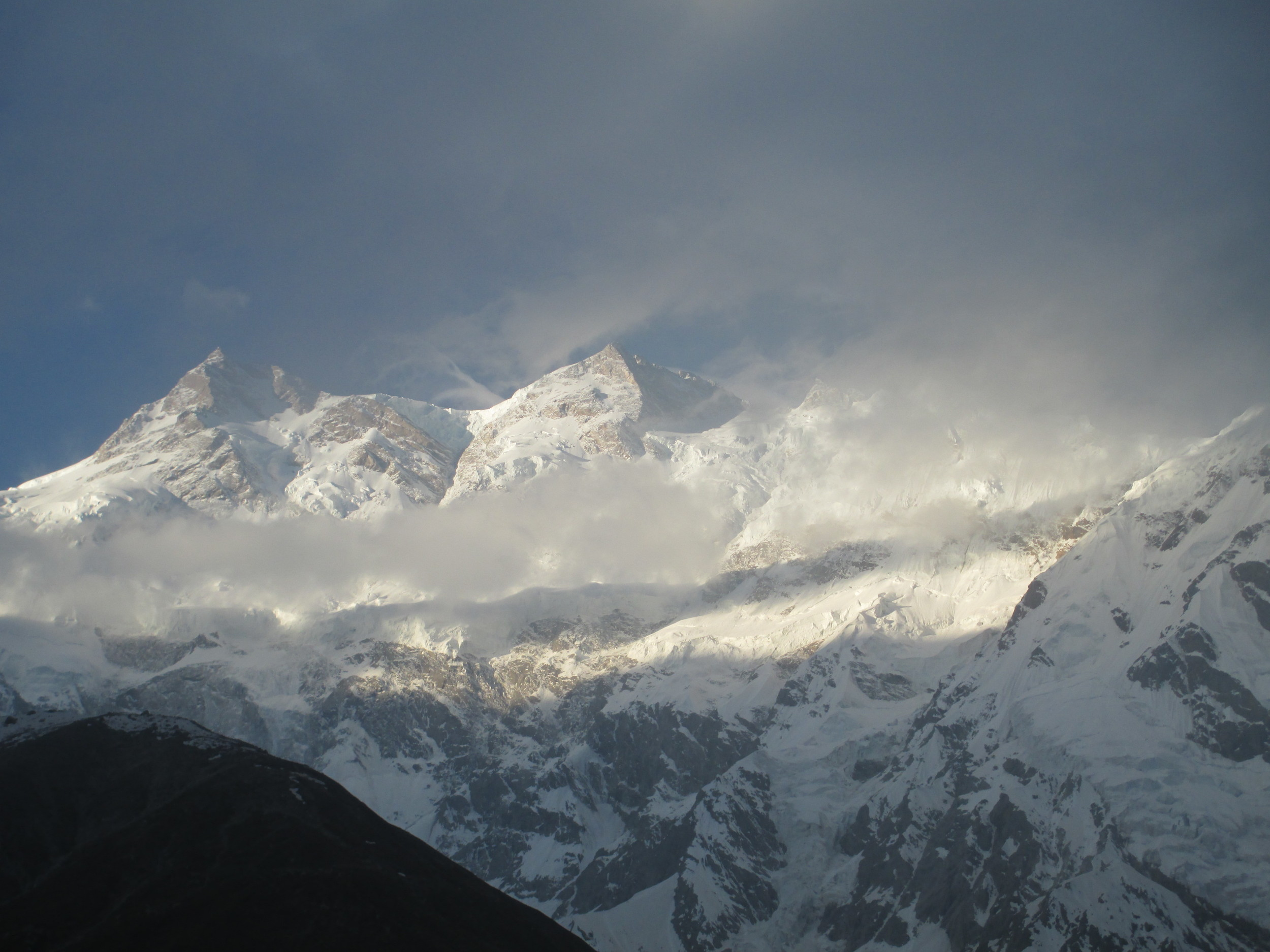 Looking across to Nanga   Prabat   from 5072
