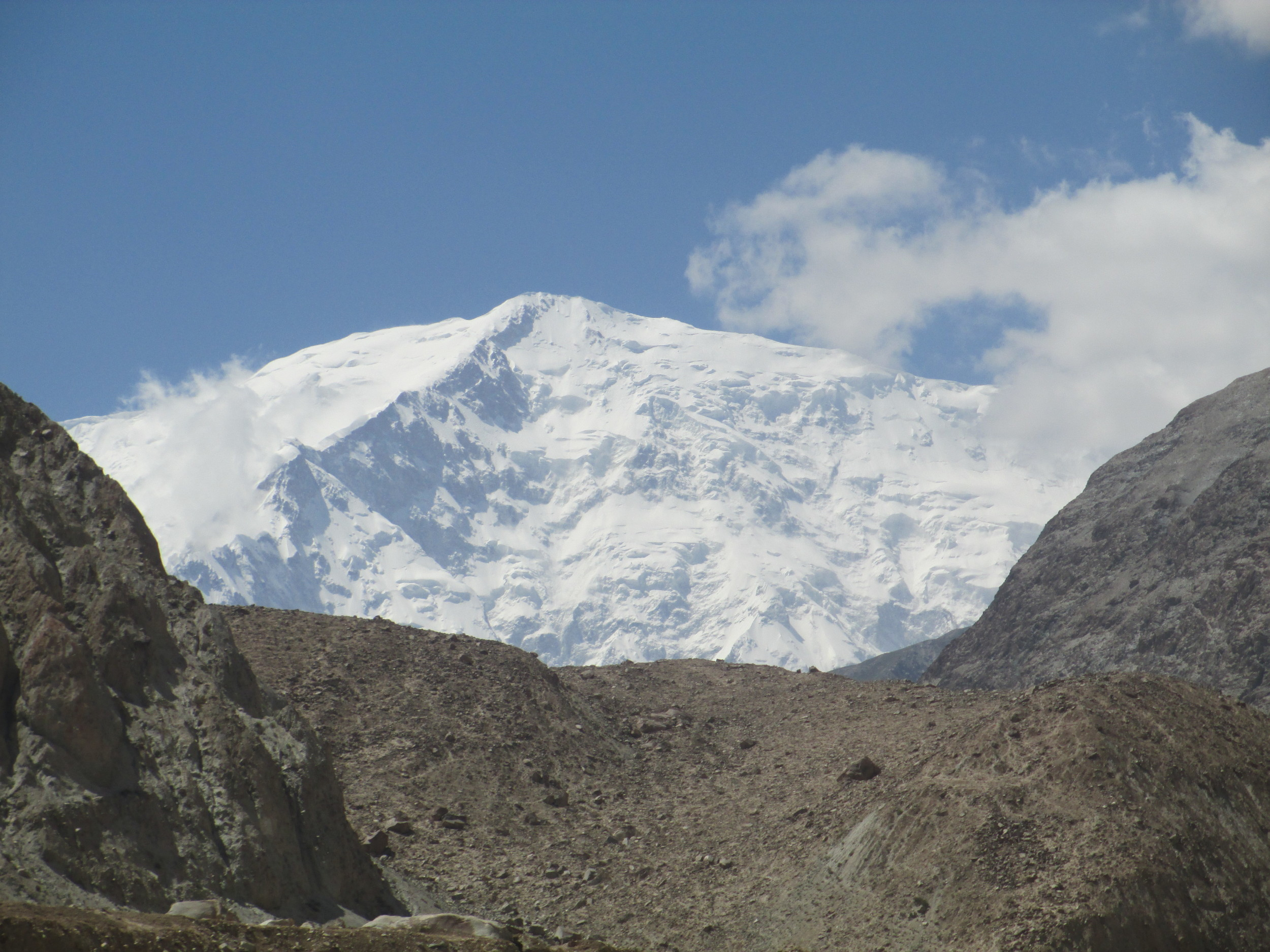 One of the 7000ers on Kongur Tagh range