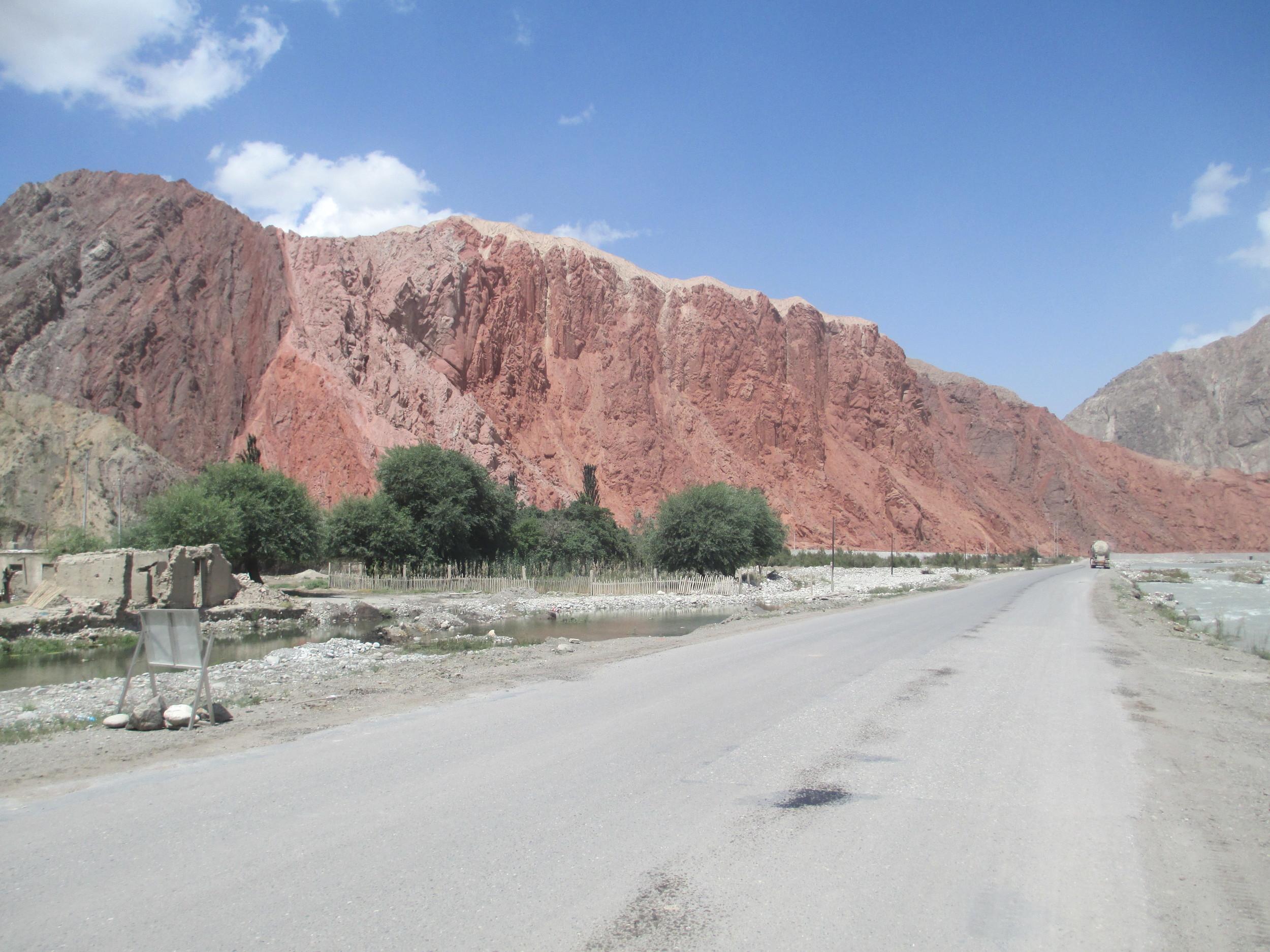 exiting Geez Gorge