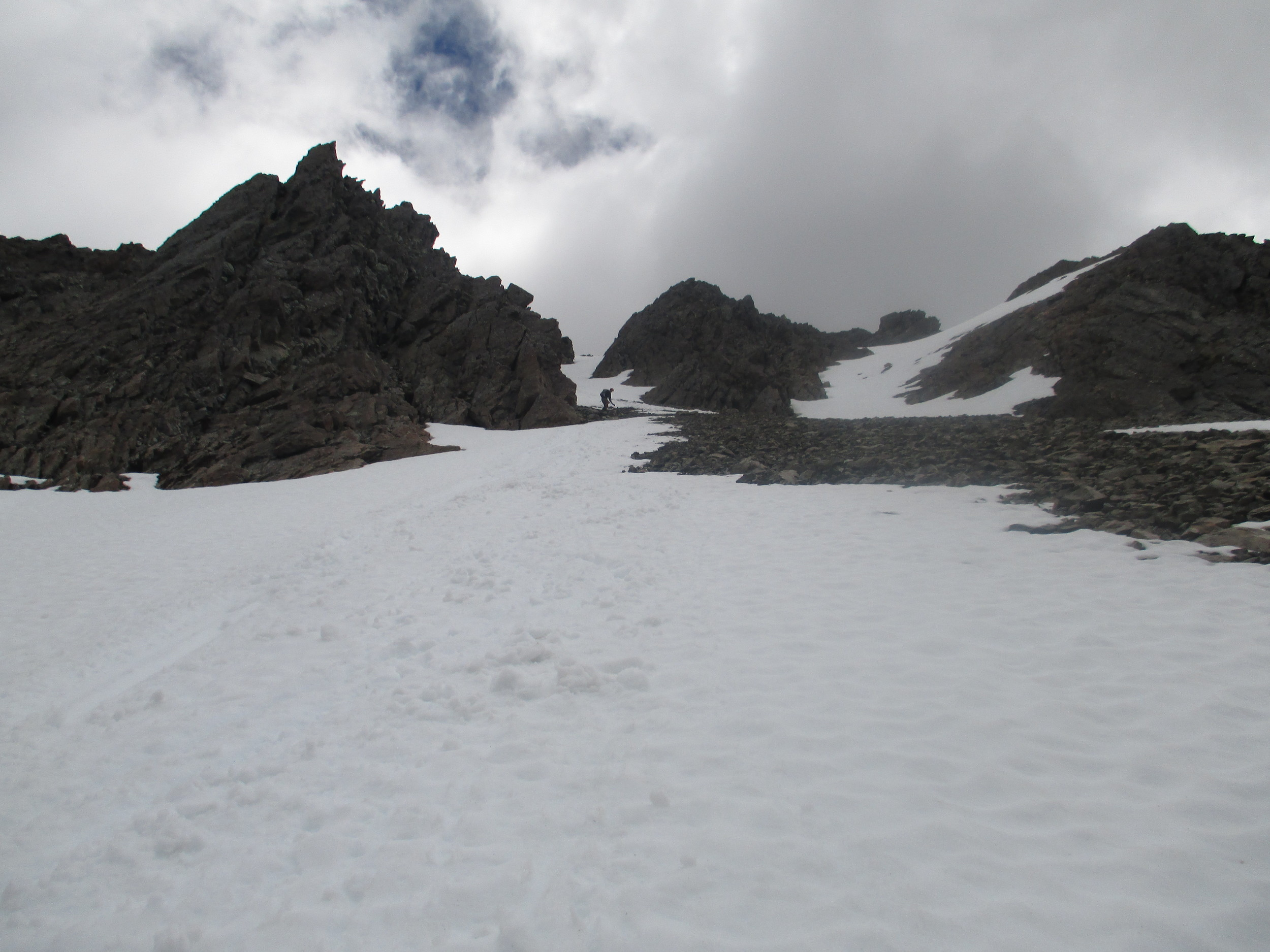 looking back up 1926m