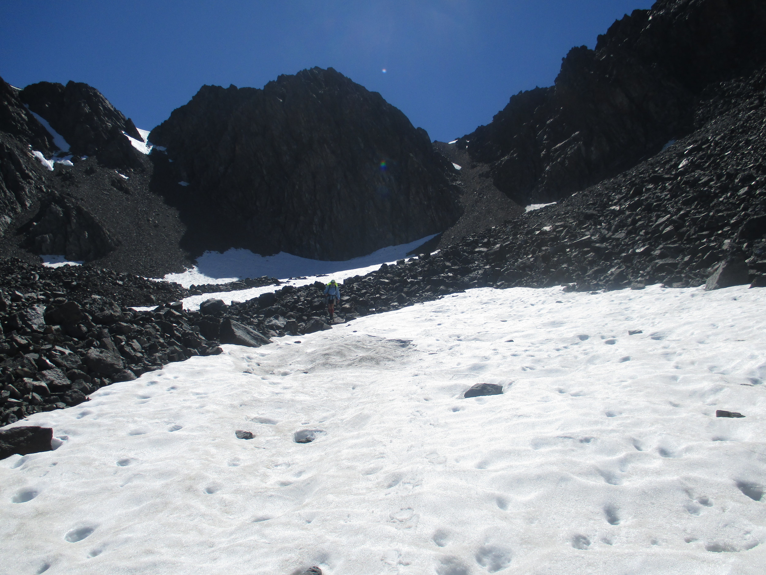 Al on Tappy , big mountain