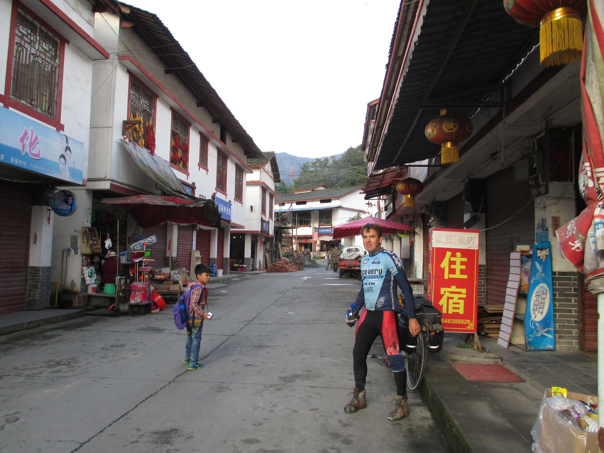 Mountain hotel Sichuan